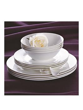 12pc-bone-china-pure-white-dinner-set