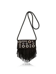 river-island-girls-eyelet-fringed-crossbody-bag