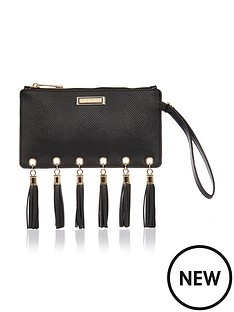 river-island-fringed-zip-top-purse