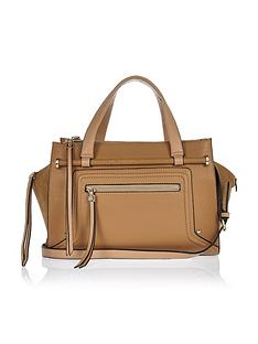 river-island-bar-front-detail-bowler-bag