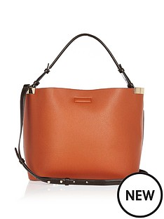 river-island-metal-side-slouch-bag