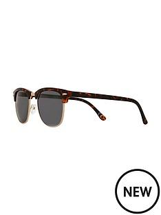 river-island-river-island-mens-tortoiseshell-clubmaster-sunglasses