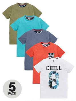 v-by-very-boys-colournbspchill-t-shirts-5-pack