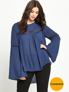 so-fabulous-bell-sleeve-crochet-lace-insert-blouse