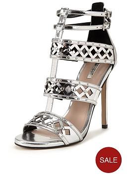 carvela-garland-metallic-caged-sandal