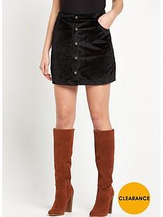 vero-moda-mabel-velvet-short-skirt