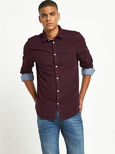 river-island-double-faced-chambray-shirt