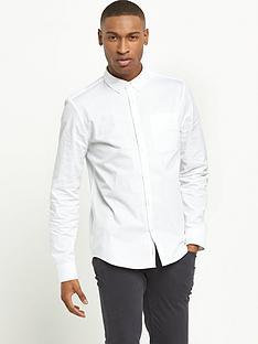 river-island-long-sleeved-twill-shirt