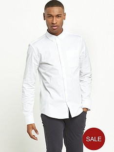 river-island-long-sleeved-twill-shirt