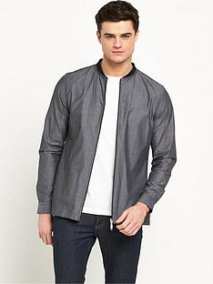 river-island-long-sleeved-bomber-style-shirt