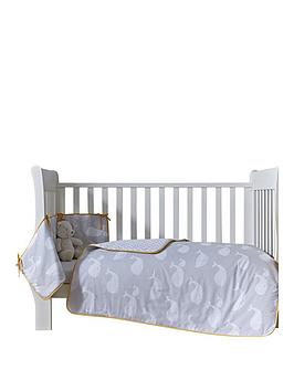 Clair De Lune Whales CotCot Bed Quilt and Bumper