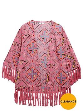 v-by-very-girls-fringed-aztec-kimono