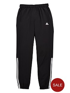 adidas-adidas-youth-boys-essential-mid-3-stripe-woven-pant