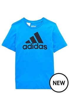 adidas-adidas-youth-boys-logo-tee