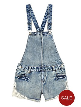 v-by-very-girls-denim-dungarees-with-crochet-detail