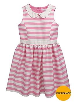 v-by-very-girls-embellished-collar-stripe-occasion-dress-dress
