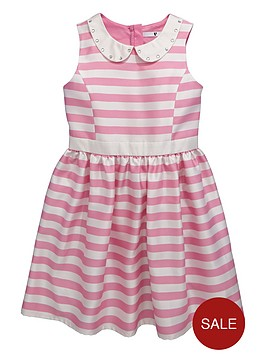v-by-very-girls-embellished-collar-stripe-occasion-dress-dress