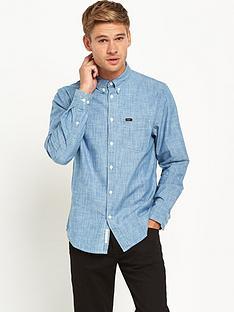 lee-button-down-mens-shirt