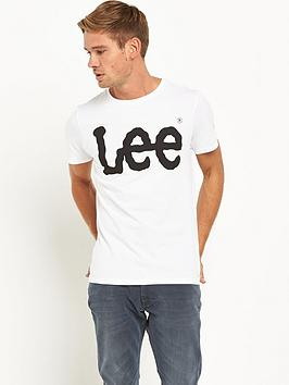 lee-logo-mens-t-shirt