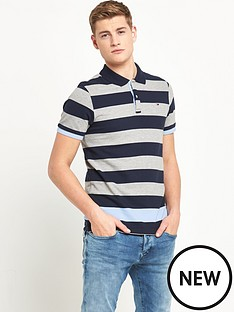 hilfiger-denim-hilfiger-denim-basic-stripe-ss-polo-shirt