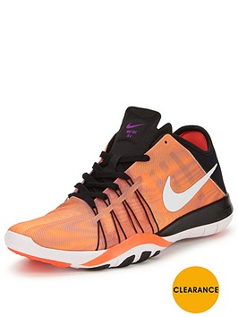 nike-free-tr-6-print-training-shoes-orangeblacknbsp