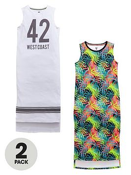 v-by-very-girls-sporty-essentials-maxi-dresses-2-pack