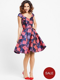 myleene-klass-floral-jacquard-dress