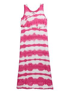 v-by-very-girls-double-layer-tie-dye-maxi-dress