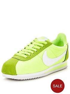nike-classic-cortez-nylon-fashion-shoes-greennbsp