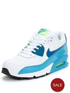 nike-air-max-90-essentialnbspfashion-shoe-whitebluenbsp