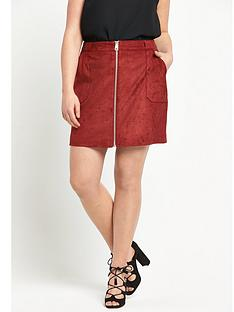 so-fabulous-suedette-zip-through-skirt