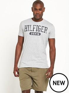 hilfiger-denim-hilfiger-denim-basic-logo-ss-t-shirt