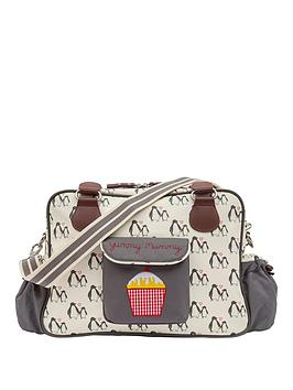 Pink Lining Yummy Mummy Penguin Love Changing Bag
