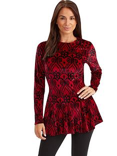 joe-browns-joe-browns-velour-peplum-top