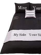 Yours and Mine Bed in a Bag - Grey