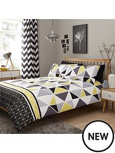 geometric-design-duvet-cover-set-greyyellow