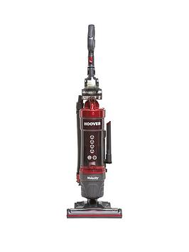hoover-vl81-vl01001-velocity-pets-power-bagless-upright-vacuum-cleaner-redgrey