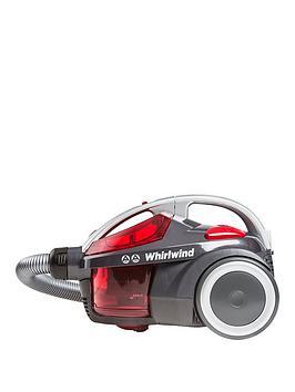 Hoover Se71 Wr01001 Whirlwind Bagless Cylinder Vacuum Cleaner  RedGrey
