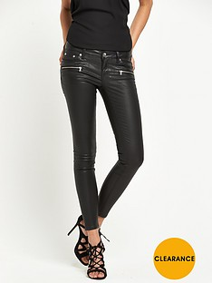 river-island-low-rise-coated-super-skinny-jean