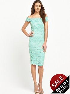 v-by-very-corded-lace-bardot-midi-dress
