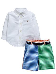 ralph-lauren-check-big-pony-short-set