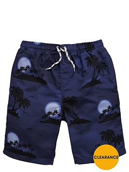 v-by-very-boys-hawaiian-print-swim-shorts