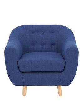 Very Claudia Fabric Armchair Picture