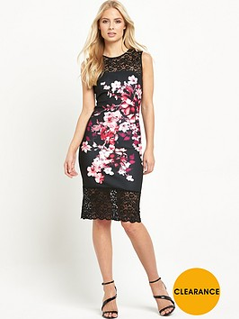 lipsy-thick-thin-floral-lace-hem-bodycon-dress