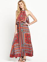 Double Layered Maxi Dress