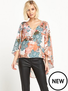 river-island-river-island-printed-cape-top