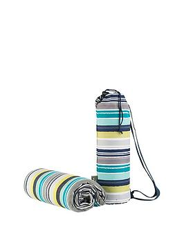summerhouse-by-navigate-stripe-acrylic-picnic-blanket-in-duffle-bag