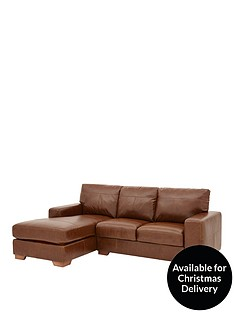 huntington-3-seater-left-hand-italian-leather-chaise-sofa