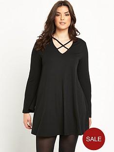 alice-you-cross-front-swing-dress