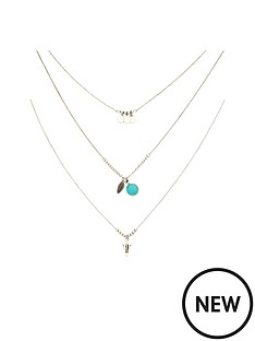layered-western-style-necklace